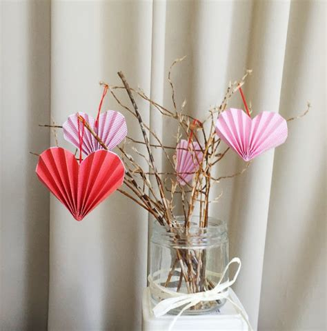 s day ornaments 19 easy diy paper decorations for valentine s day