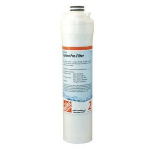 the home depot pre carbon filter replacement cartridge for
