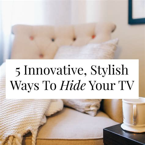 Design My Room Free 5 innovative stylish ways to hide your tv