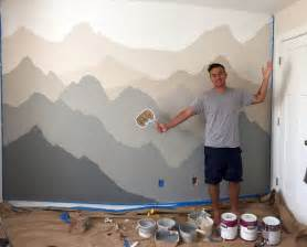 How To Paint A Wall Mural 25 best ideas about nursery wall murals on pinterest
