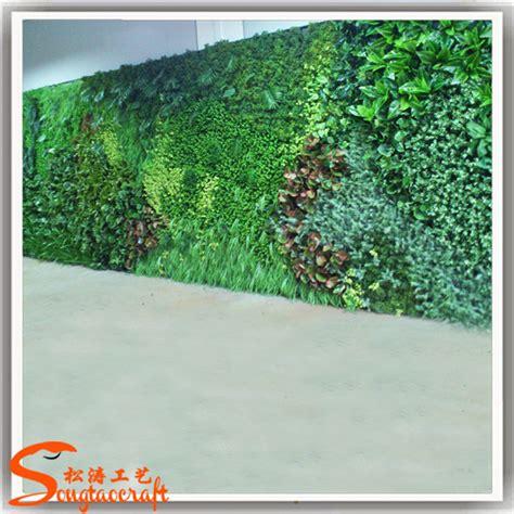 Karpet Rumput Plastik Taman Gantung Vertikal Rumput Hijau Dekorasi Dinding Plastik Hiasan Dinding Rumput Lumut Buatan