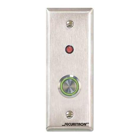 Promoo Push Button Exit securitron push to exit button spdt narrow stile 4a