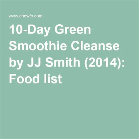 Green Smoothie Detox Shopping List by 1000 Ideas About Green Smoothie Cleanse On