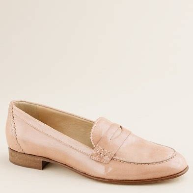 loafers clay biella patent loafers in bronzed clay 228 00 from jcrew