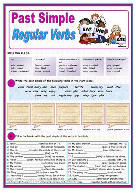 biography simple past exercise exercise on simple past regular verbs regular verbs