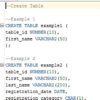 oracle sql create table oracle create table syntax and exles the complete