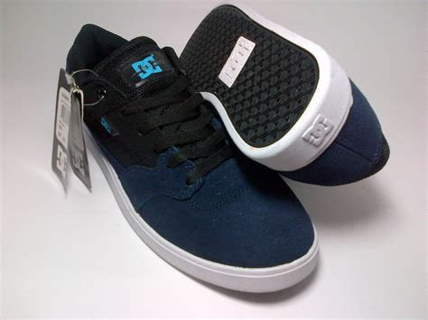 Sepatu Dc Chris Cole dc chris cole black white blue shoes shop id