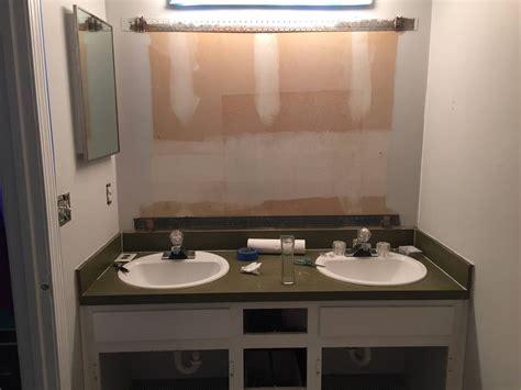 bathroom vanity size problem homeimprovement