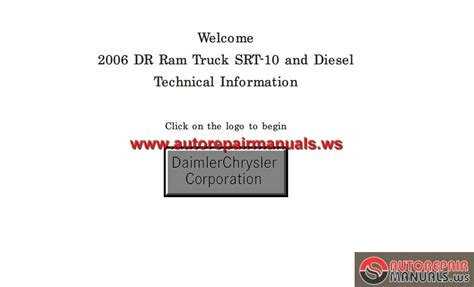 car repair manual download 2004 dodge ram 1500 interior lighting dodge ram 1500 2500 3500 2006 service manual auto repair manual forum heavy equipment forums