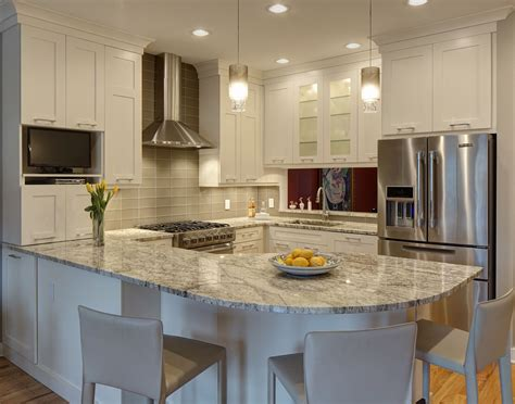 metropolitan home kitchen design open concept kitchen enhancing spacious room nuance
