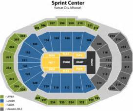 Sprint Center Floor Plan by 4th Row Floor Wwe Monday Night Raw On The Aisle Seats