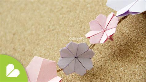 Flores De Origami - origami flor de cerezo cherry blossom