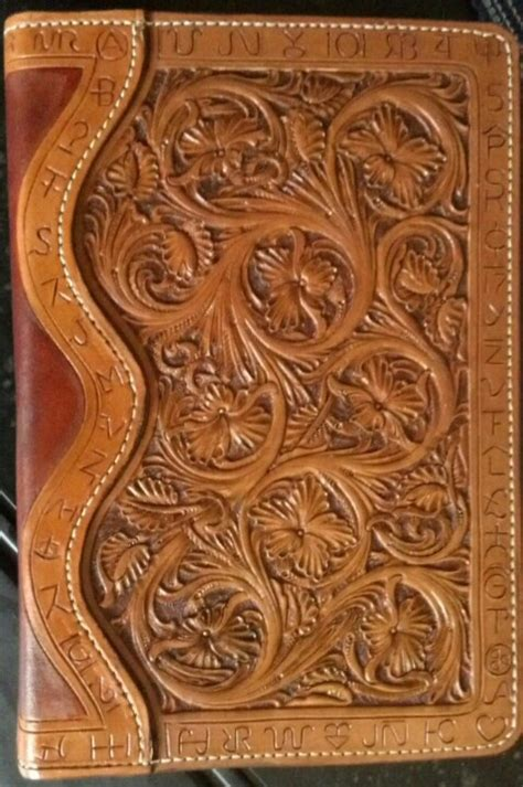 Handmade Bible - handmade leather bible cover a leather works