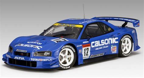 Diecast Miniatur Tomica Calsonic Impul Nissan Skyline Gt R Toys R Us autoart 2003 nissan skyline gt r r34 jgtc calsonic