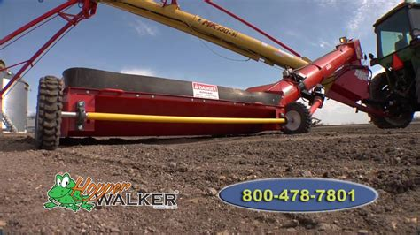 swing away auger for sale hopper walker auger mover safe easy grain handling