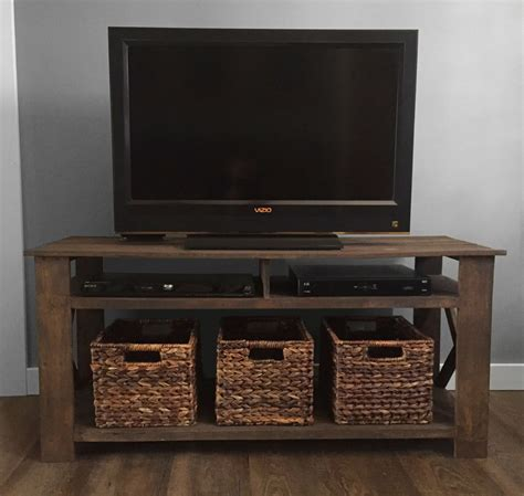 Rustic Tv Console Table Rustic Tv Console Tables Bebemarkt