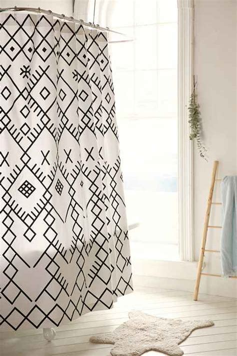magical thinking shower curtain magical thinking printed boucherouite shower curtain