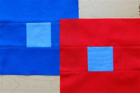 Patchwork Blocks - contrasting colors patchwork blocks weallsew bernina