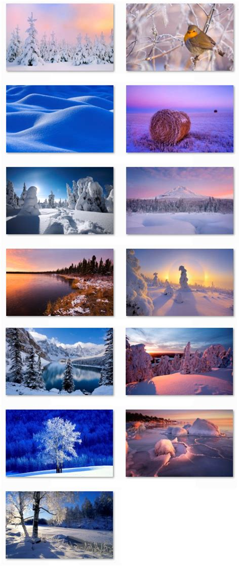 themes for windows 7 winter desktop fun best winter windows 7 themes collection
