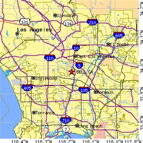 bell california ca population data races housing