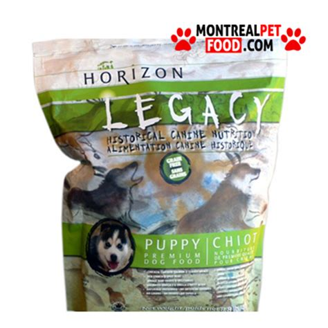 horizon legacy food horizon legacy puppy chicken montreal pet food