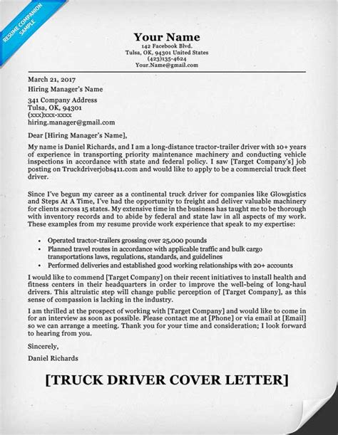 Suitable Photos For Resume by Commercial Truck Driver Resume Sle Cover Letter And