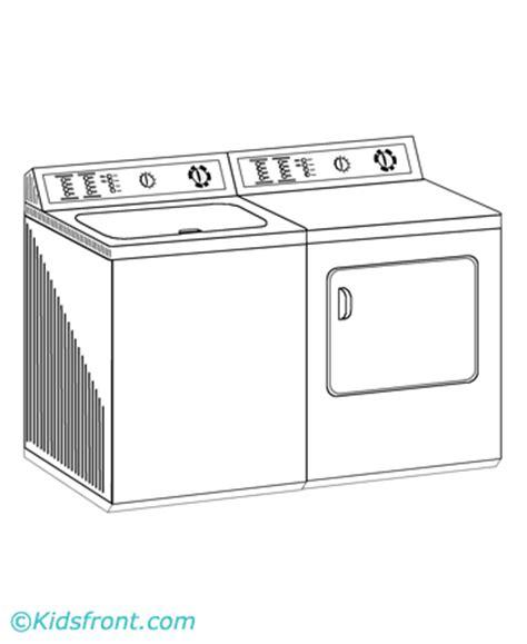 washing machine coloring page washing machine coloring pages printable