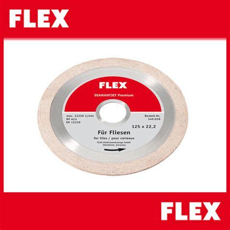 flex diamantjet diamanttrennscheibe premium fliese 125 216
