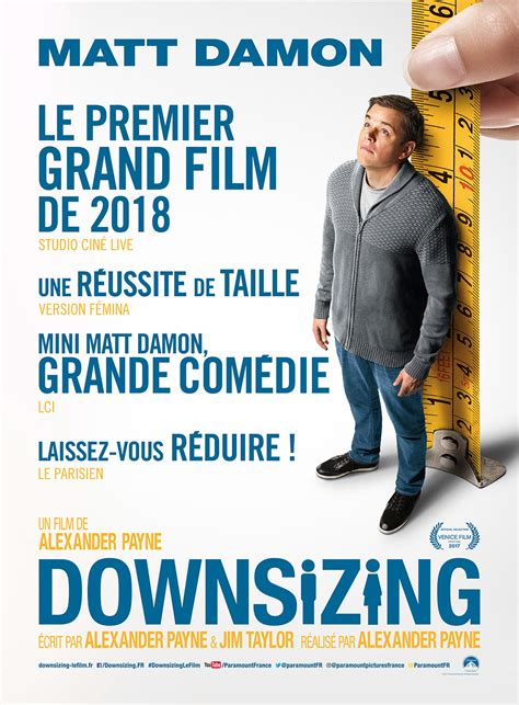 downsizing film affiche du film downsizing affiche 1 sur 4 allocin 233