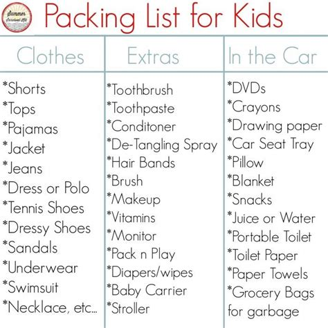 printable road trip packing checklist road trip tips for kids cookie sheet activities trays