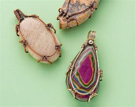 1000 Images About Wire Wrapping Leather Jewelry On