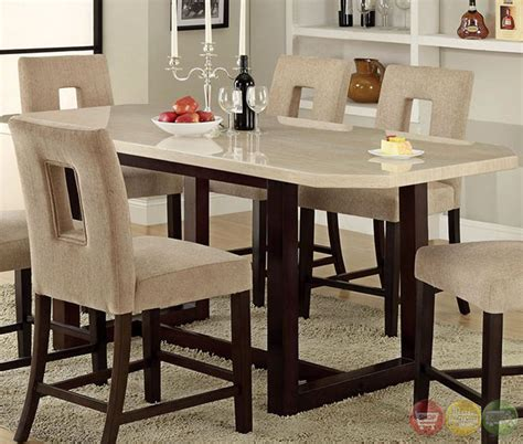 Casual Dining Room Furniture Sets by Pismo Beach Contemporary Espresso Counter Height Dining