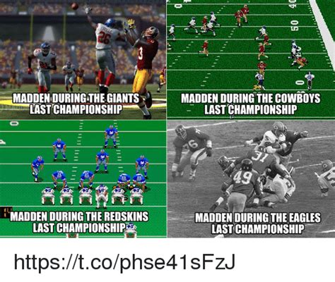 Madden Meme - maddenduring the giants madden during the cowboys last