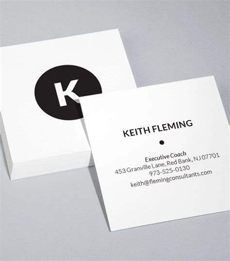 square business cards template best 25 square business cards ideas on