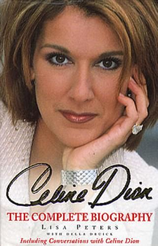 celine dion the authorized biography celine dion the complete biography uk book 0747273936 the