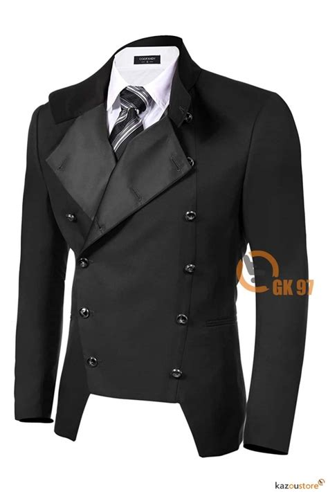 Jaket Jas Jas Blazer Casual Hitam detil produk gk97 blazer pria casual style hitam kazoustore
