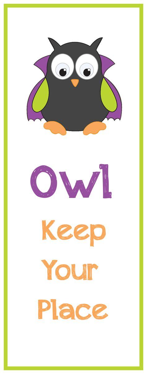 printable owl bookmarks owl bookmark template www pixshark com images