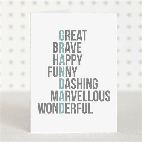 printable birthday cards for grandpa great grandad birthday card by doodlelove