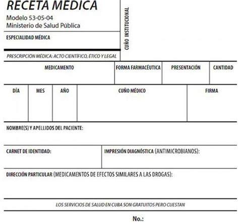 imagenes de recetas medicas nueva receta m 233 dica en holgu 237 n