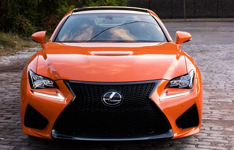 2016 lexus rc f 2016 lexus rc f review the fastest pumpkin around the