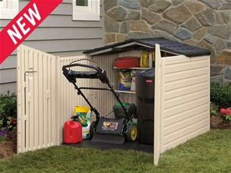 Lawn Tractor Shed by For The Lawn Mower Get It Out Of The Car Garage
