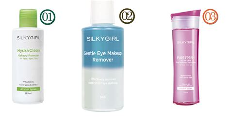 Makeup Remover Silky battle of the makeup removers hikari
