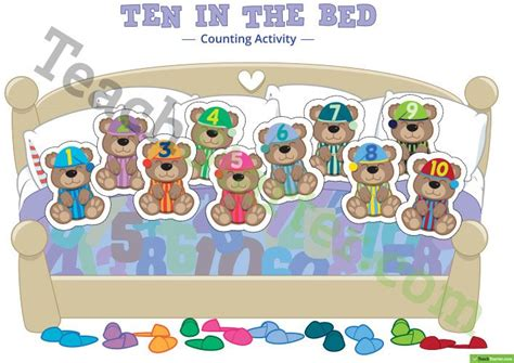 ten in a bed 820 best maths teaching resources images on pinterest