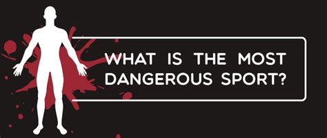 what is the most dangerous what is the most dangerous sport memolition