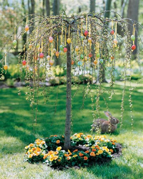 easter backyard decorations 30 lovely easter outdoor decorations