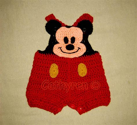 J 48400 Set Overall Mickey mickey mouse shortall overall shorts buttons at legs for