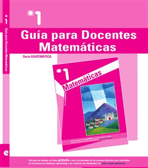 guia para maestros de quinto sep 2016 libro para el maestro de matematicas de quinto grado 2016