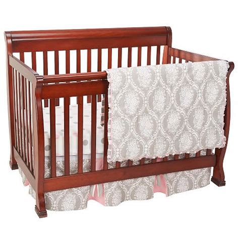 My Baby Sam Olivia Rose 3 Piece Crib Bedding Set Gray How Much Are Baby Cribs