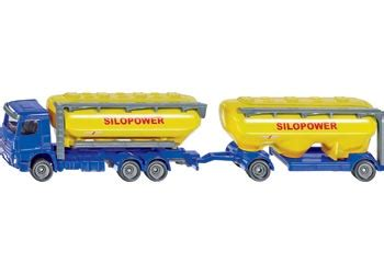 Siku Truck With Silo Traller kavanaghs toys product categories 1 87 siku farm toys