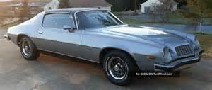 1976 Chevrolet Camaro 1976 Chevrolet Camaro Type Lt 350 350 W Build Sheet